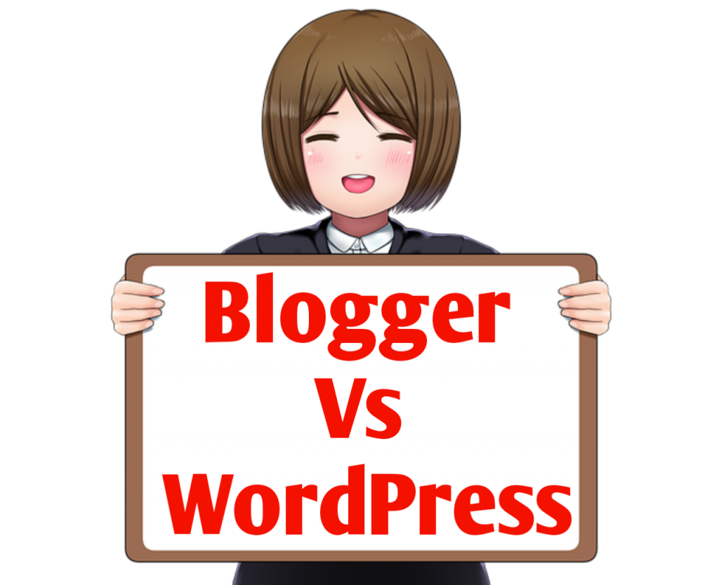 Which Is best blogger vs wordpress