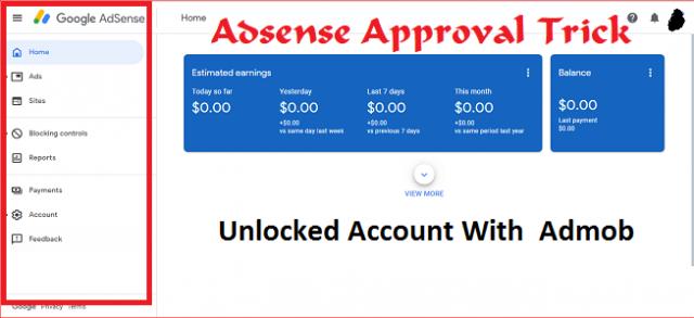 Adsense Approval Trick