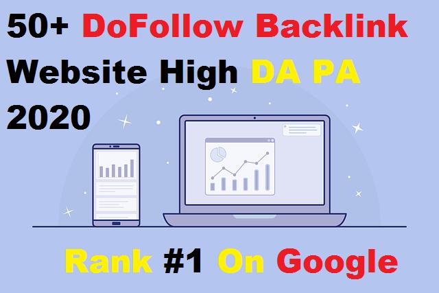 50+ DoFollow Backlink Website High DA PA 2020,