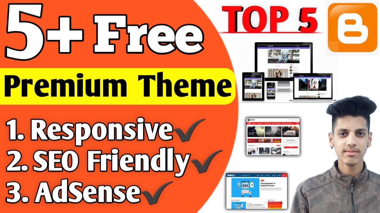 Top 5 Premium Blogger Templates