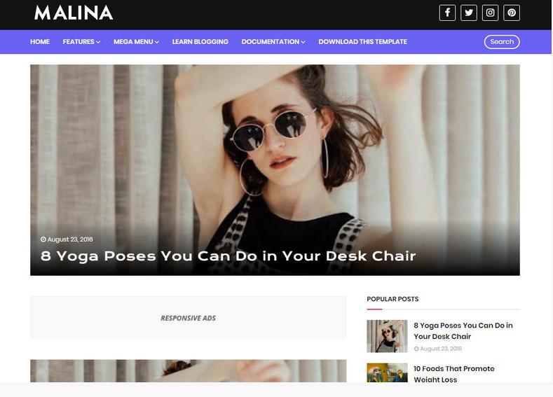 Blogger Premium Templates 2020