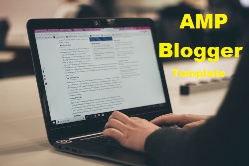 AMP Blogger Template 2020